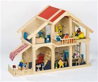 Puppenhäuser und Puppen