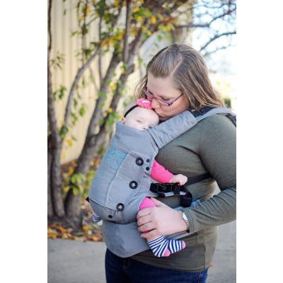 Moby Tragehilfe Aria grey - Babycarrier