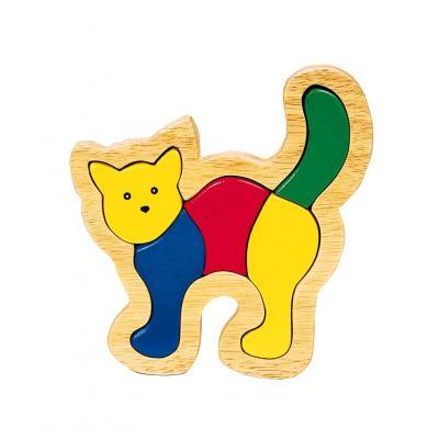 Einlegepuzzle Katze