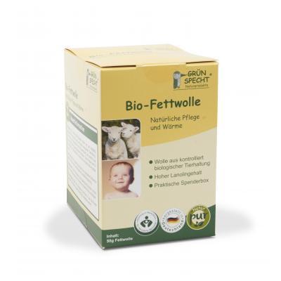 Bio-Fettwolle natürliche Pflege und Schutz