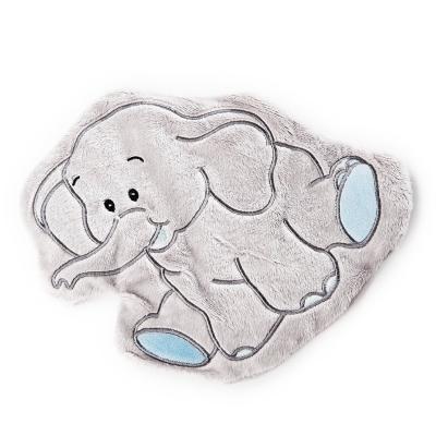 Wärmezoo Elefant - Traubenkernkissen mit Bezug