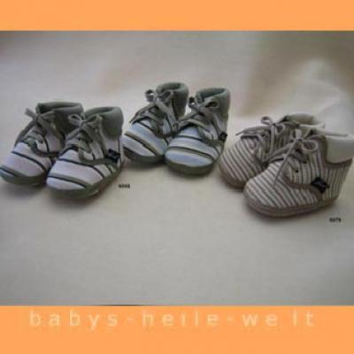 Babyschuhe Ringel mit Fersenpolster
