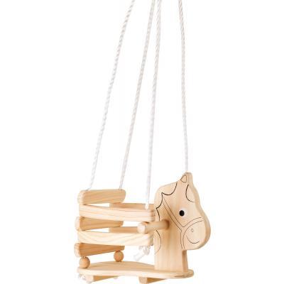 Pferdeschaukel aus Holz