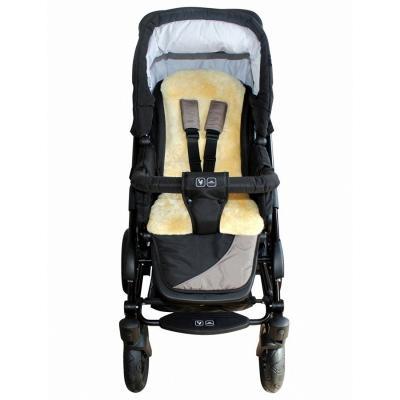 Heitmann Lammfellauflage für Buggy oder Kinder-Autositz