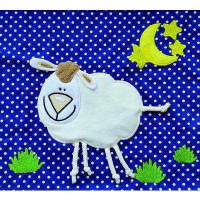 Ersatzbezug Baumwolle für Theraline Original Knisterapplikation Schaf