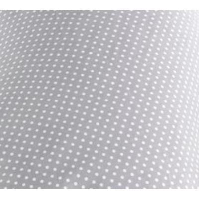 Ersatzbezug Baumwolle für Theraline Original Punkte grau