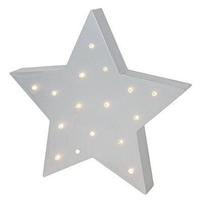 LED Lampe Stern mit kleinen Schönheitsfehlern