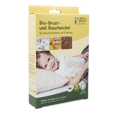 Bio Brust und Bauchwickel Gr. 2 für Kinder