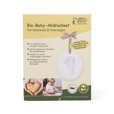 Bio Baby Hand-oder Fußabdruck-Set 1 Dose
