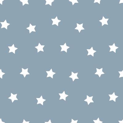 Ersatzbezug für Theraline Komfortkissen 180 cm Design Bigstars grau