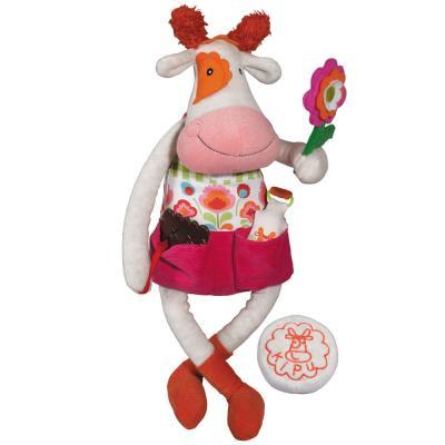 Stofftier Schmusetier Plüsch Annemie die Kuh 45 cm
