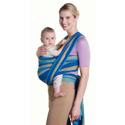 Amazonas Carry Sling Baby-Tragetuch melon 450 x 70 cm