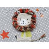 Ersatzbezug Baumwolle für Theraline Original mit Applikation Löwe 26