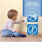 Steckdosenschutz klebbar weiß 20 Stück