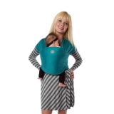 Moby Wrap elastisches Tragetuch Bamboo teal